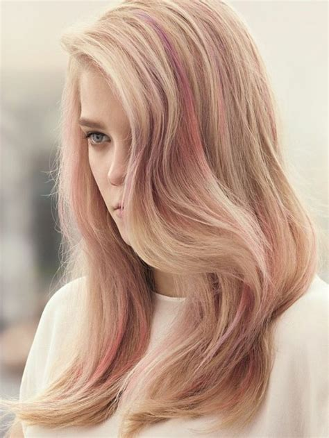 rose gold blonde hair color hair color blonde ros 233 gold is the latest craze of the
