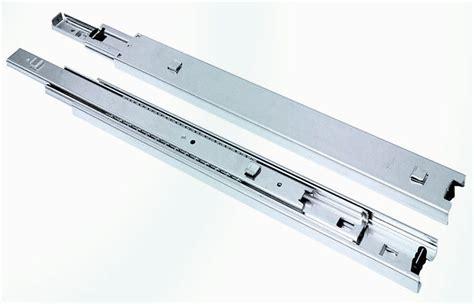 Cabinet Drawer Track Hardware Steel Cabinet Single Track Drawer Slide Side Mounting