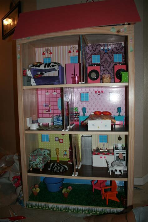 home made doll house homemade dollhouse craft projects pinterest