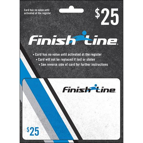 Finish Line Gift Cards - finish line gift card shoes apparel gifts food shop the exchange