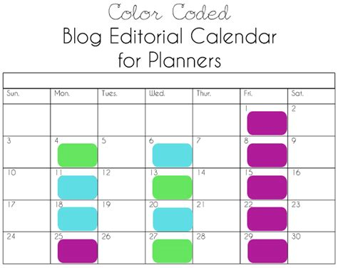 printable calendar blog printable blog editorial calendar for planners this pug life