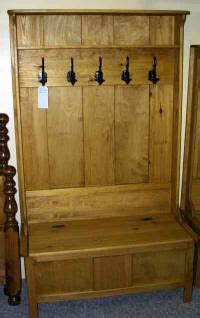 bench and coat rack combo rustic coat rack bench combo on pinterest