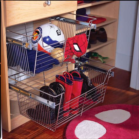 Closet Baskets by Sliding Closet Baskets Baskets Other