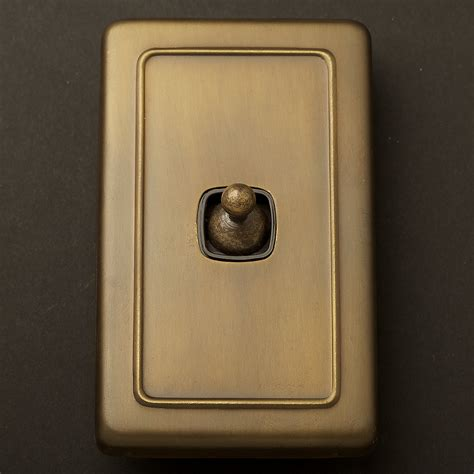 restoration hardware light switch plates traditional antique brass large plate single rocker switch