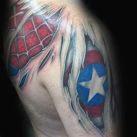 captain america shield tattoo designs 70 captain america designs for ink
