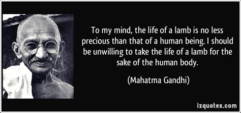 biography of mahatma gandhi pdf to my mind the life of a lamb is no less precious than