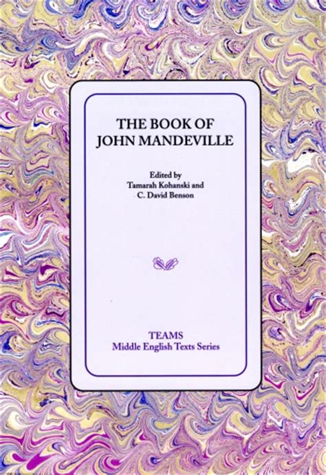 themes in book of john book of john mandeville the robbins library digital