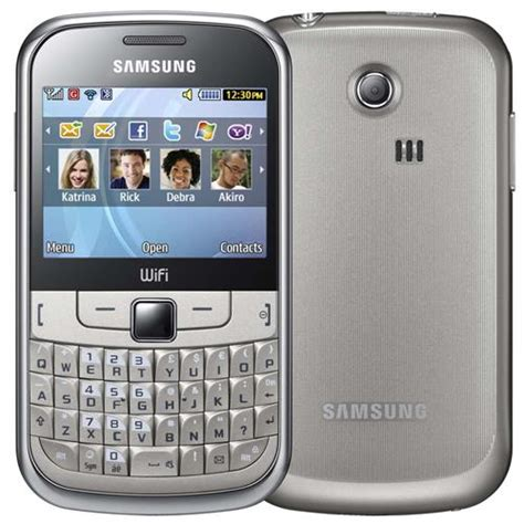 Hp Samsung Qwerty Wifi Celular Desbloqueado Samsung Chat 335 Chanhe Gold