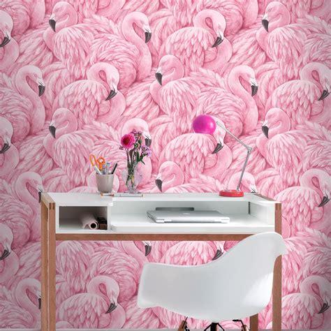 flamingo wallpaper ebay flamingo wallpaper arthouse vintage lagoon holden lake