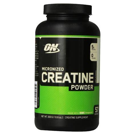 creatine on micronized creatine powder 300g cr 233 atine optimum nutrition