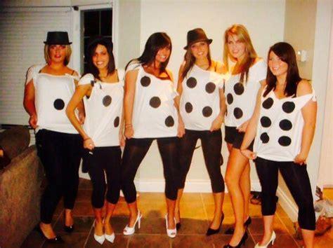 dice diy halloween group costume   girls lets