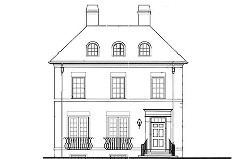front exterior the adams floor plan 2120sq ft 2014 classical style house plan 3 beds 2 5 baths 2711 sq ft