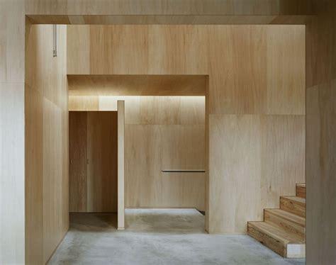 casa na studio architect shuji hisada interiors exteriors plywood walls plywood