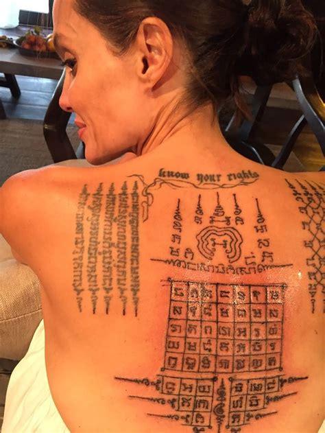 ultimo tattoo angelina jolie angelina jolie e brad pitt fizeram tatuagem juntos antes