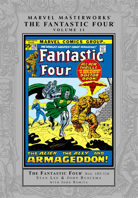 marvel masterworks the vol 11 books trade reading order 187 marvel masterworks fantastic four