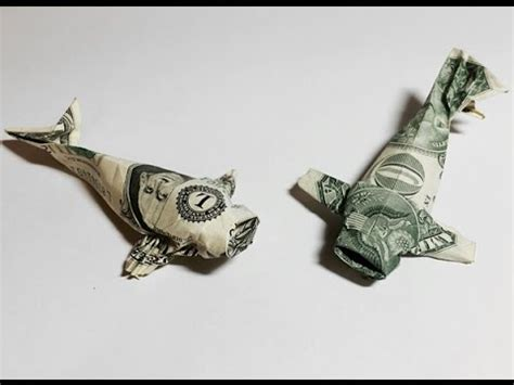 Money Fish Origami - dollar bill origami koi dollar fish money origami