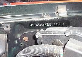 Jeep Chassis Codes Jeep Vin Vehicle Identification Chassis Number