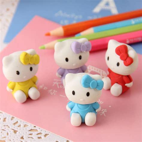 minion school supplies kawaii bentuk karet penghapus