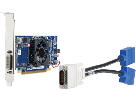 Vga Card Dual amd hd 6350 512mb ddr3 dms59 dual vga graphics card qk638aa hp 174 middle east