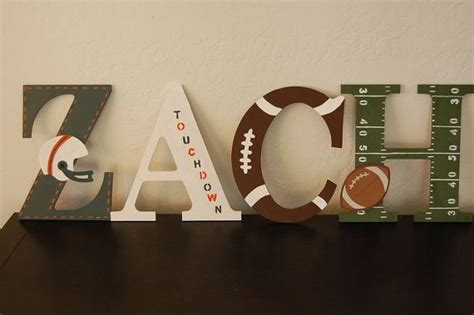 Football Nursery Decor Best 25 Football Themed Rooms Ideas On Pinterest Boy Sports Bedroom Big Boy Bedroom Ideas