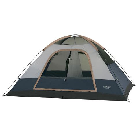 two room tent wenzel 174 ponderosa 2 room sport dome tent 123446 backpacking tents at sportsman s guide