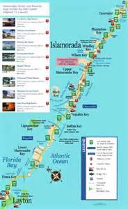 islamorada hotels and resorts map