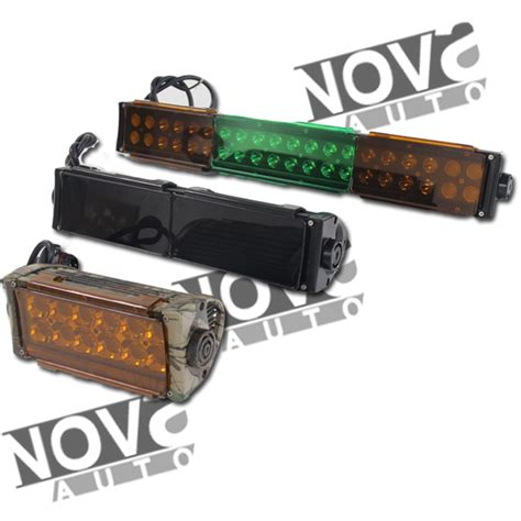 colored led light bar car accessories colored flood light covers plastic led