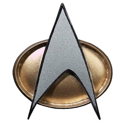 printable star trek badge sci fi toys star trek starfleet 2360s combadge replica