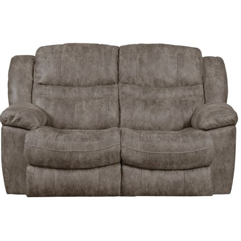 reclining rocking loveseat catnapper valiant rocking reclining loveseat in marble