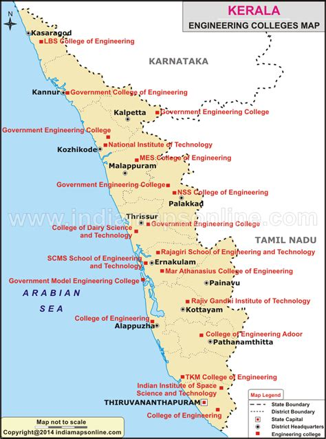 Mba In Information Technology Colleges In Kerala by Engineering Colleges In Kerala Kerala Engineering Colleges