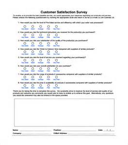 blank survey template customer survey template word surveys template survey