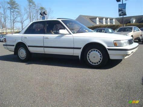 Toyota 1989 Models White 1989 Toyota Cressida Standard Cressida Model