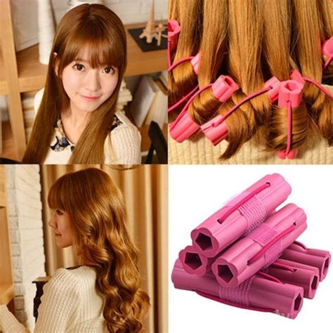 membuat rambut keriting panjang
