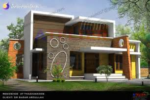 home designer single floor contemporary indian home design in 1350 sqft