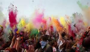 color festival fork mormons move hindu colour filled festival to
