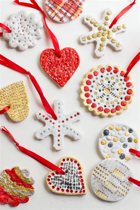 play dough xmas ornaments how to make salt dough ornaments wholefully