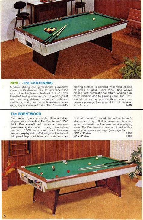 brentwood brunswick pool table identify this 8ft brunswick