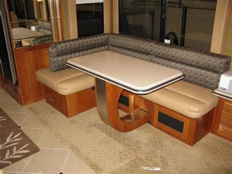 rv mod one of a rv dinette table and space