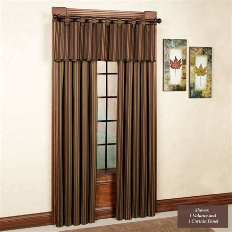 striped drapes window treatments wilderness ridge striped window treatments
