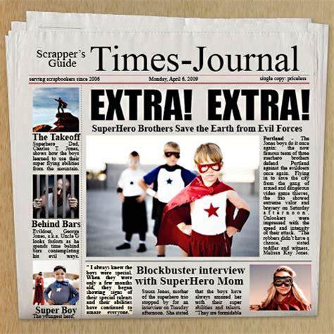 tabloid newspaper layout design photoshop free customizable newspaper adobe photoshop template