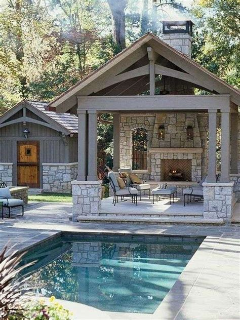 house plans with pools and outdoor kitchens 25 best ideas about small pool houses on pinterest