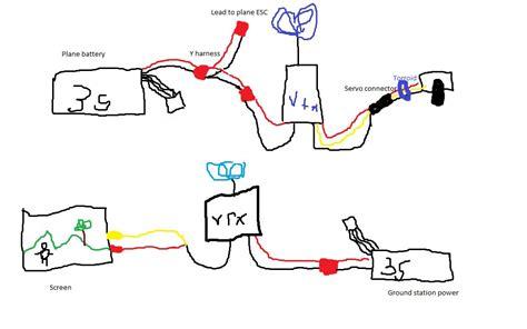 fpv plane wiring diagram plane free printable