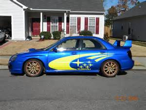 Subaru Gold Sold Fs Nc 05 Subaru Sti Blue Gold With Gt35r Turbo