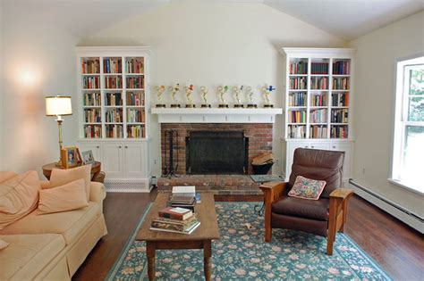 shaker style living room cozy living rooms shaker style shaker style bookcases traditional living room new