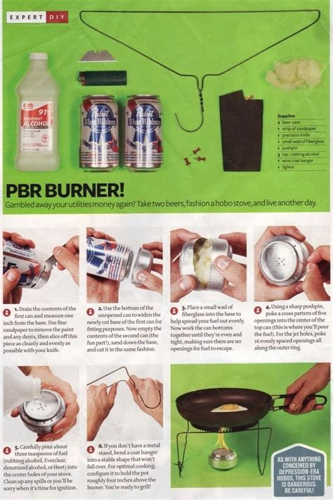 soda can stove template how to make a pbr burner out of a soda can and wire hanger