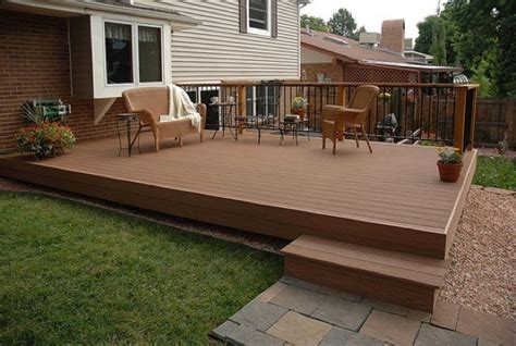 building a patio how to make a deck bob vila
