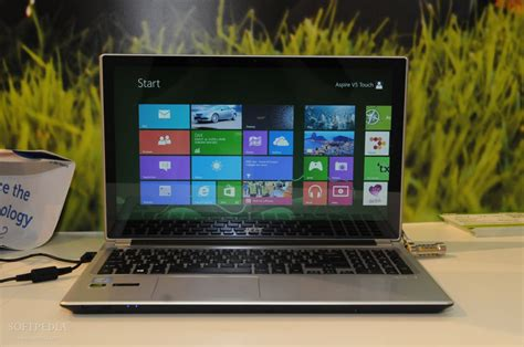 Laptop Acer Aspire V5 Touch ifa 2012 acer aspire v5 notebook touch on