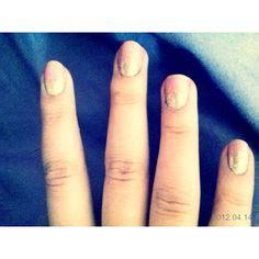 glitter nail nice idea messy hair beauty