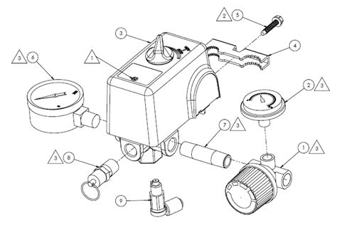 pressure switch parts diagram wiring diagram with