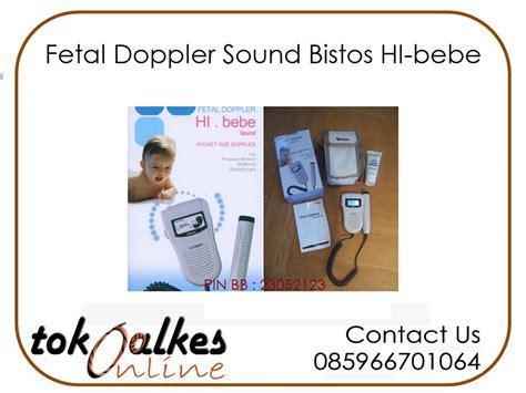 Fetal Doppler Hi Bebe Bistos Sound fetal doppler sound bistos hi bebe toko alat kesehatan
